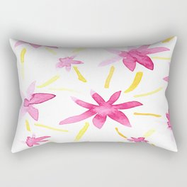 Magenta Love Rectangular Pillow