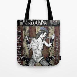 Jill Valentine The Master Of Unlocking Carnival Poster (Resident Evil) Tote Bag