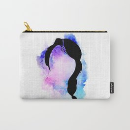 Indian Princess Silhouette Carry-All Pouch