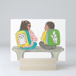 Backpacks Mini Art Print