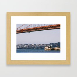 Lime Point Lighthouse Framed Art Print