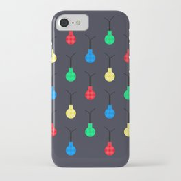 twinkle twinkle || pattern in blue iPhone Case