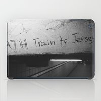 subway iPad Cases featuring Subway by MengMeng