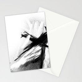 XA 00 7 - Abstract Monochrome Stationery Cards