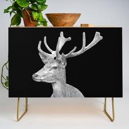Deer Black Credenza