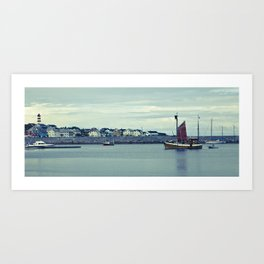Norway Ship's Art Print