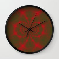matrix Wall Clocks featuring Matrix by Aaron Carberry