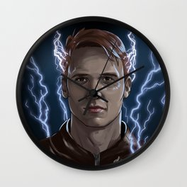 Electrical Devil - Jay Garrick - The Flash Wall Clock