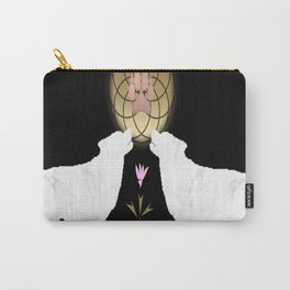 Textured Wolves Carry-All Pouch