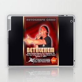 Richie Knucklez appearance card - King of Arcades World Premiere, Bethlehem PA Laptop & iPad Skin