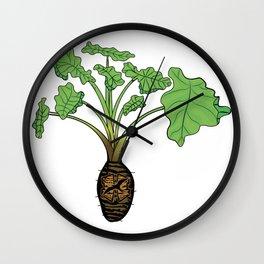 Hāloa Kalo Islands Wall Clock