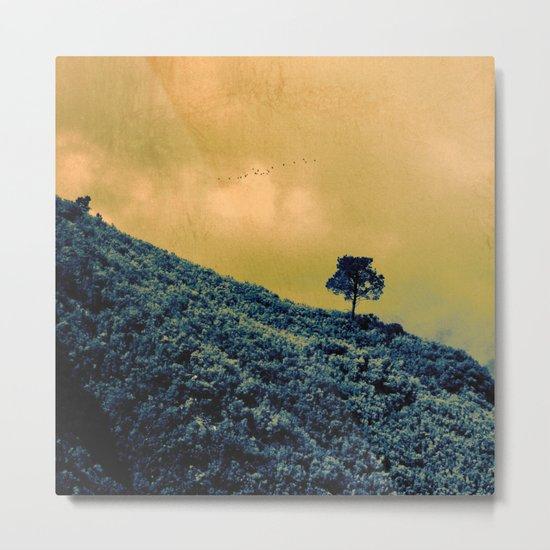 Lone Tree Hill Metal Print