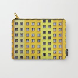 Yellow Urban Geometry Carry-All Pouch