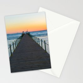 Sunrise on Red Sea Stationery Cards