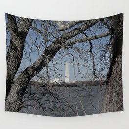 Through the Branches Wall Tapestry