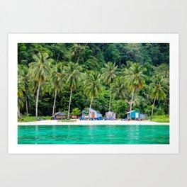 Paradise Island in Thailand Art Print