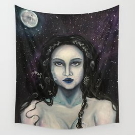 Moon Priestess Wall Tapestry