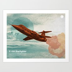 Starfighter Art Print