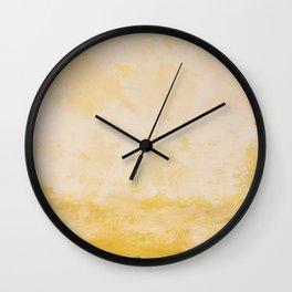Wall flower Wall Clock