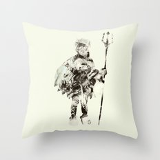 Within A Forest Dark Throw Pillow