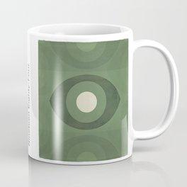 George Orwell Nineteen Eighty-Four - Minimalist literary design, bookish gift Coffee Mug