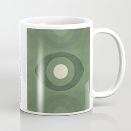 George Orwell Nineteen Eighty-Four - Minimalist literary design, bookish gift Coffee Mug