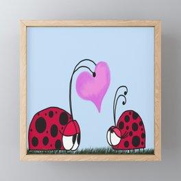 I Give You My Heart Framed Mini Art Print