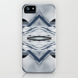 Snow Lines iPhone Case