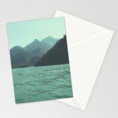 Desolation is beyond the horizon - Diablo Lake Stationery Cards