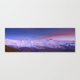 Sierra Nevada mountains. More than 3000 meters hight Canvas Print