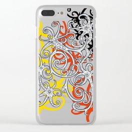 Sarawak Hornbill Clear iPhone Case