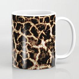 Golden leopard skin Coffee Mug