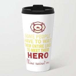 FIREFIGHTER'S DAUGHTER Travel Mug