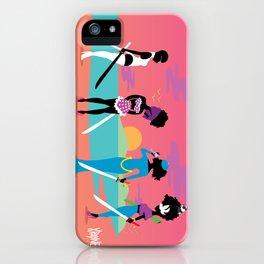Samurai Sisters iPhone Case
