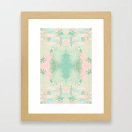 TROPICAL THEME Framed Art Print