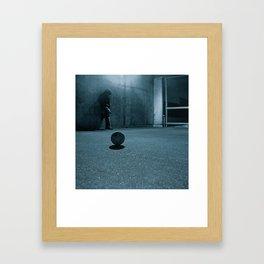 The NOWhere Man Framed Art Print