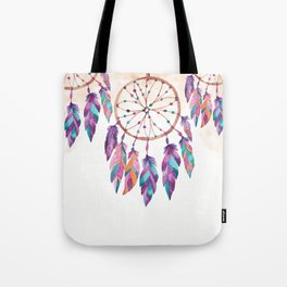 Colorful dreamcatchers Tote Bag