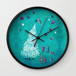 A Robot Christmas Carol Wall Clock