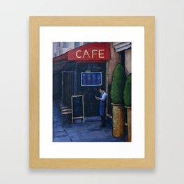 Tomorrow's Menu Framed Art Print
