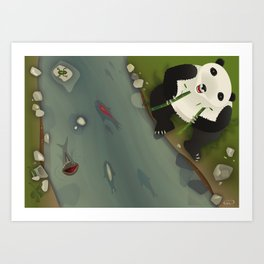 pppanda! Art Print