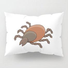 dangerous parasite - tick Pillow Sham