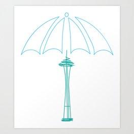 Rainy Dae Art Print