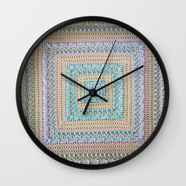 Timeless Crochet Wall Clock