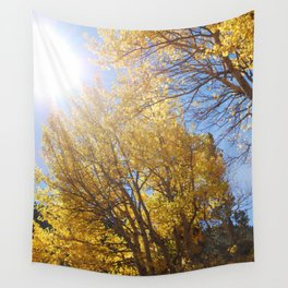 Quaking aspen at EstesPark, CO Wall Tapestry
