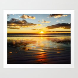 Pismo Beach After the Rains Art Print