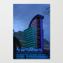 Century Downtown Ventura Canvas Print
