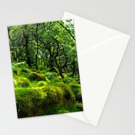 MOSSY ROCK ENGLISH FOREST Stationery Cards