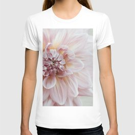 Blush Pink Dahlia, No. 1 T-shirt