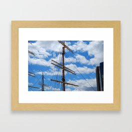 Mast Framed Art Print