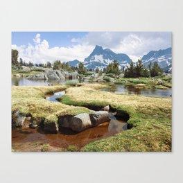 Banner Peak Canvas Print